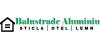 Balustrade Aluminiu, Sticlă, Oțel - Balustrade din aluminiu cu sticlă personalizată