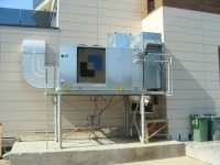 Sistem de ventilație hotel