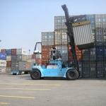 Yard IT pentru manipularea containerelor