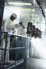 Pulverizare vopsea - utilizare industriala