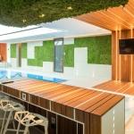 Mozaic lemn bambus