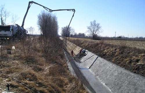 Recondiționare canale din beton armat
