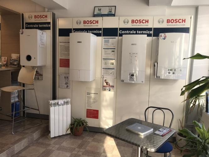 Comercializare centrale termice Bosch