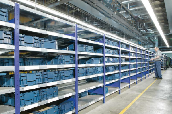 Sistem rafturi metalice inclinate