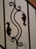 Elemente decorative din fier forjat