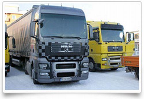 Transport marfa cu camioane