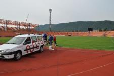 Sistem încălzire gazon Stadion Ceahlăul Piatra Neamț