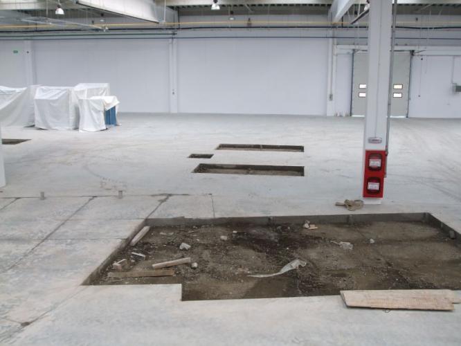 Taiere pardoseala betonata
