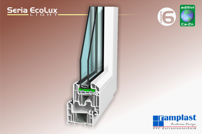 Profile PVC Ecolux Light