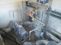Realizare instalație vacuum stație de irigații Republica Moldova