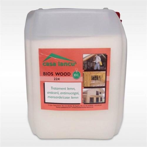 Teste pe lemn cu Bios Wood Total
