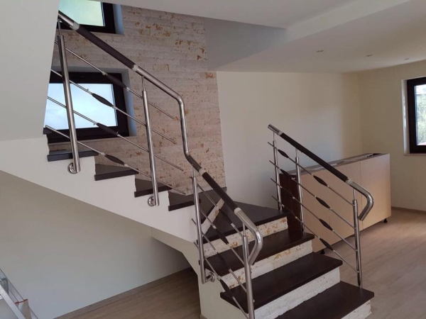 Balustrade inox model pt scari