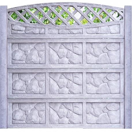 Placa gard beton presat plinta