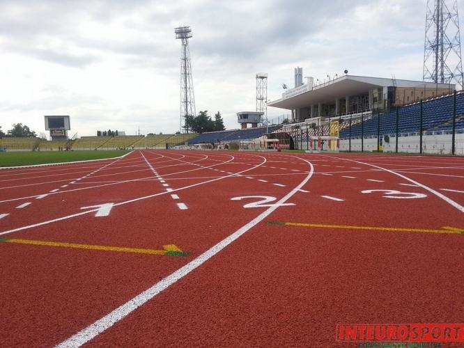 Pistă de atletism Nicolae Dobrin, Pitești