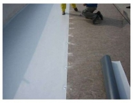 Lucrare de hidroizolatie PVC