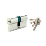 Cilindri de siguranță  din alamă, chei cu amprentă (Europrofil)