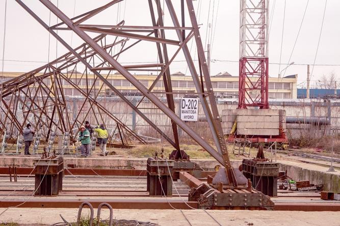 Constructie stalpi metalici