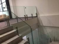 Balustrada din sticla laminat securizata