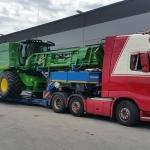 Transport utilaje de construcții