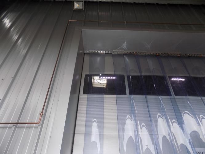 Perdea PVC pentru exterior